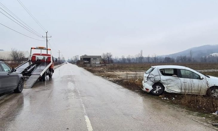 Aksidentohet vetura zyrtare, gjashtë të lënduar