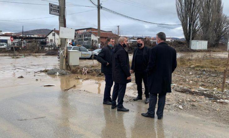 Qytetarët e prekur nga vërshimet në Gjilan mund t'i paraqesin kërkesat për vlerësimin e dëmeve
