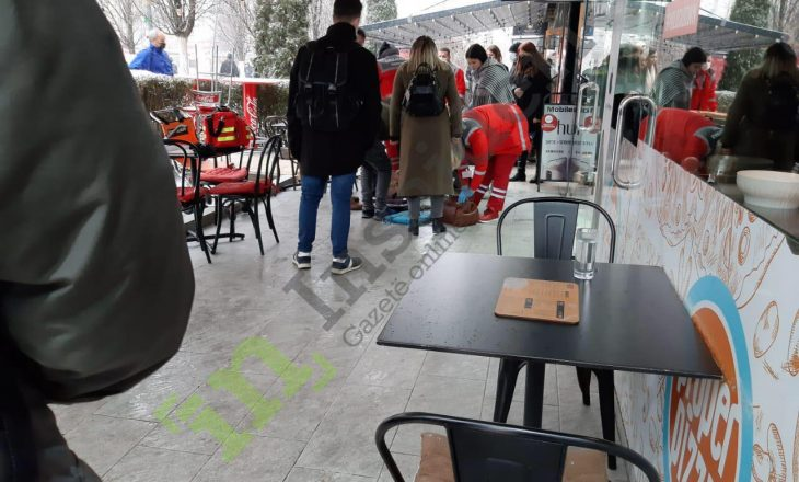 Një i moshuar alivanoset në Prishtinë