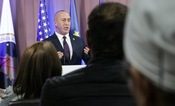 Haradinaj: Sa isha kryeministër evitova rrezikun e ndarjes së vendit