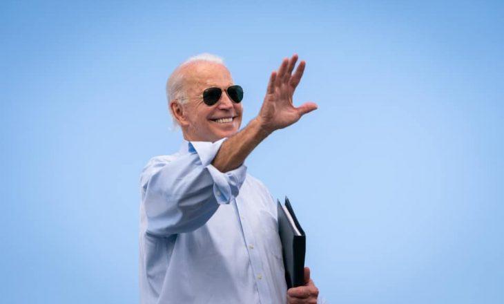 Joe Biden flet pas inaugurimit si president i SHBA-së