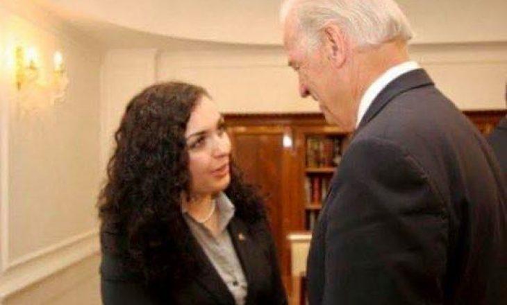 Osmani e uron Bidenin pas inaugurimit si president i SHBA-së