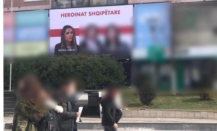 Figura e Besartës vendoset në shesh në kohë fushate, reagojnë nga familja Jashari