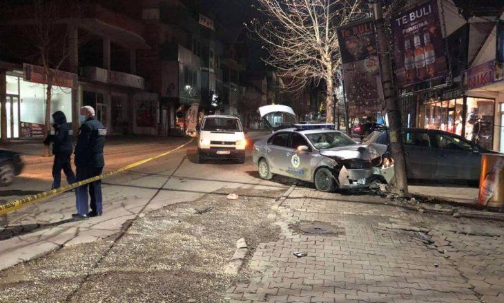 Aksident në Malishevë, dy policë dërgohen në QKUK