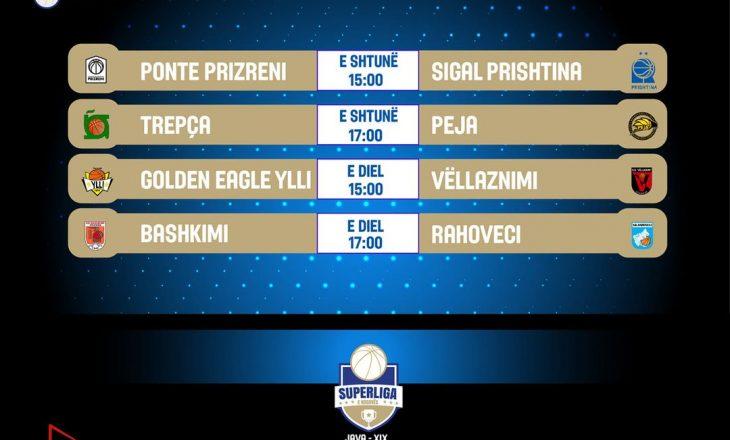 Fundjava rezervon ndeshje interesante në Superligën e Kosovës në basketboll