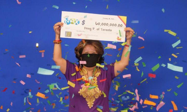Fitoi lotarinë prej 60 milionë dollarësh – thotë se numrat fitues i kishin dalë bashkëshortit në ëndërr