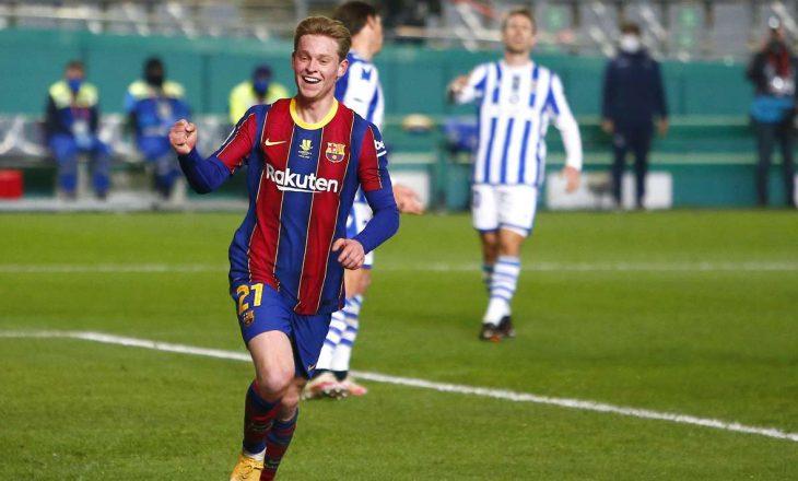 Barcelona mposht pas penalltive Real Sociedad-in, kalon në finalen e Superkupës së Spanjës