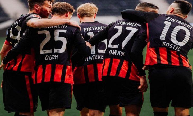 Bundesliga: Frankfurt mposht Leverkusen-in
