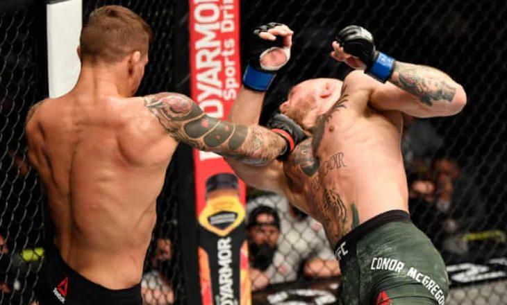 Conor McGregor nokautohet nga Dustin Poirier