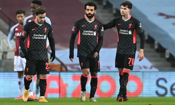 Liverpool mposht Aston Villën në Kupë, kalon në fazën tjetër