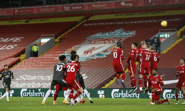 Mbyllet pa gola derbi mes Liverpool dhe Manchester United