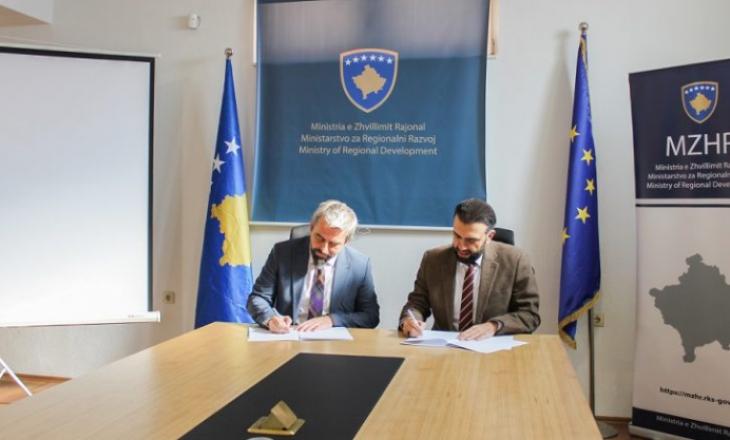 Memorandum bashkëpunimi në mes të Klubit të Prodhuesve dhe Ministrisë së Zhvillimit Rajonal
