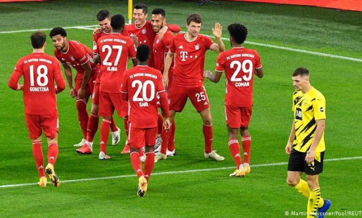 Ja pse ekipet gjermane në ligat e tyre kanë emrin e lojtarit poshtë numrit të fanellës