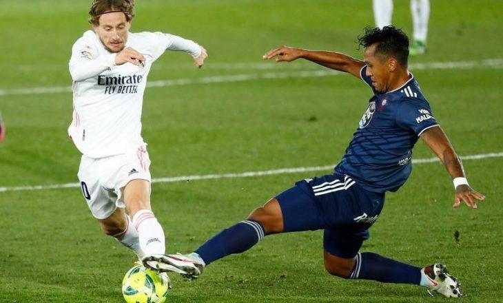 Real Madrid fiton lehtë ndaj Celta Vigo-s