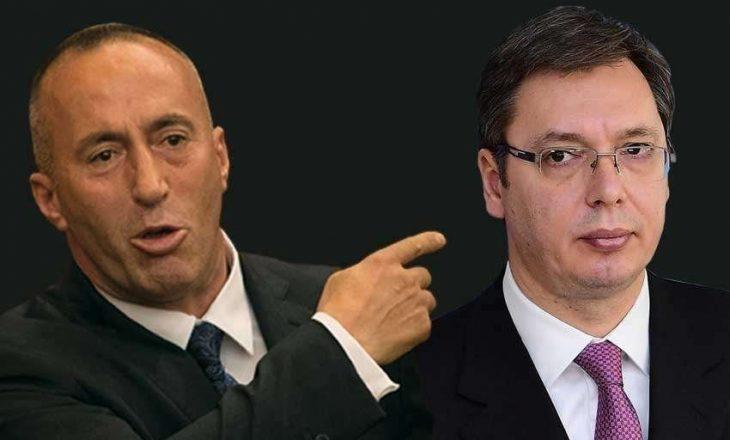 """Vuçiq: Haradinaj është politikan """"serioz"""" dhe """"i rrezikshëm"""""""