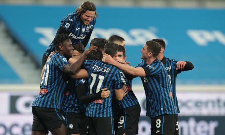 Atalanta eliminon Lazio-n nga kupa, kalon në gjysmëfinale