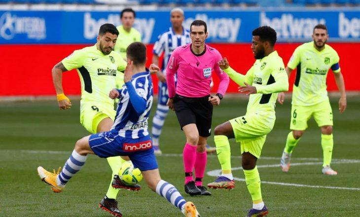 Atletico mposht Alaves-in, ruan kryesimin në La Liga