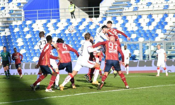 Arlind Ajeti shënon gol për Reggiana-n në Serie B