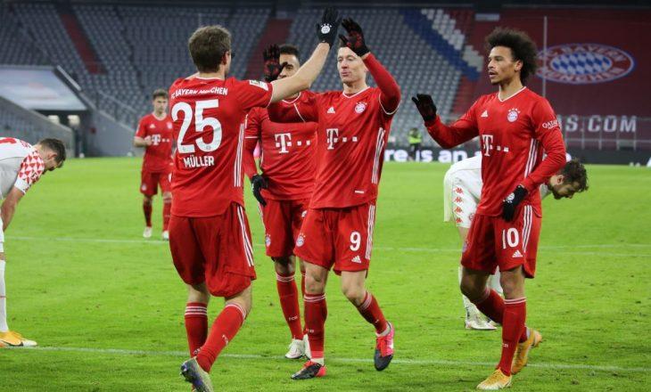 Bayern Munchen mposht me përmbysje Mainz-in
