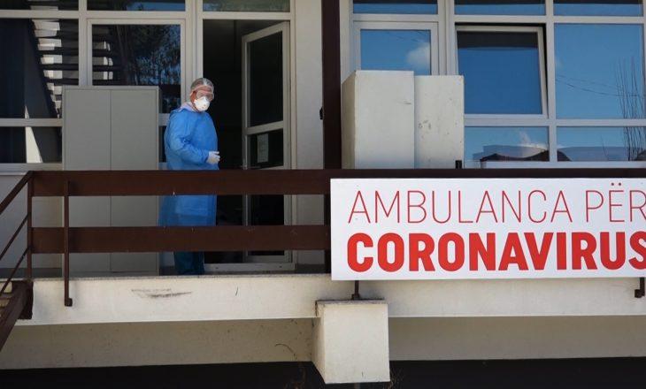 Një i vdekur nga Coronavirusi në 24 orët e fundit