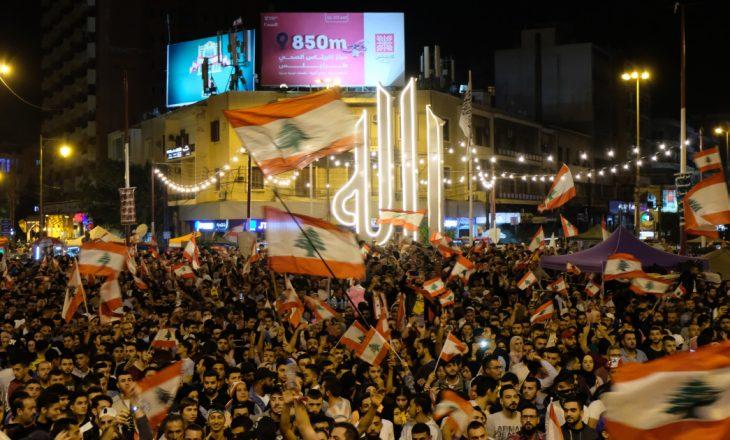 Dhjetëra të plagosur në protestat kundër masave anti-COVID në Tripoli të Libanit