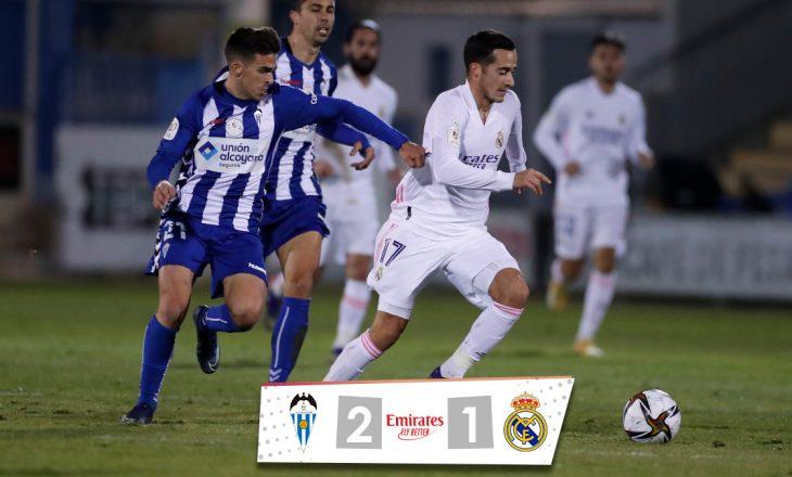 Alcoyano eliminoi Realin e Madridit nga Kupa e Mbretit