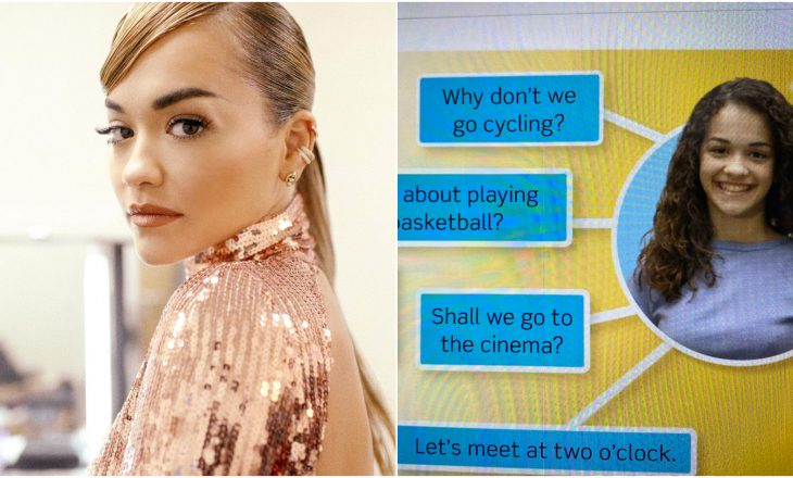 Prisni pak! Si përfundoi Rita Ora në librat shkollorë në Spanjë?