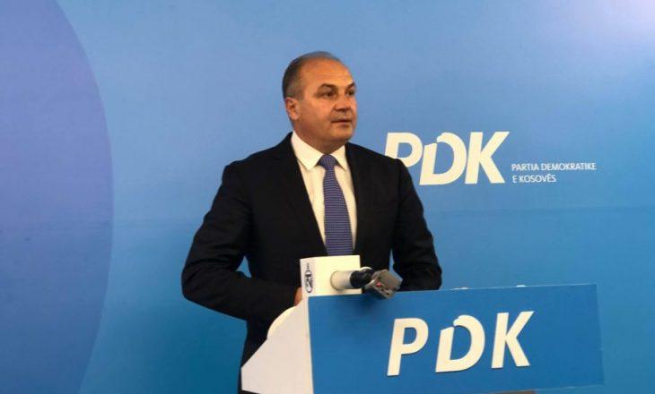 PDK prezanton sot planin për drejtësinë