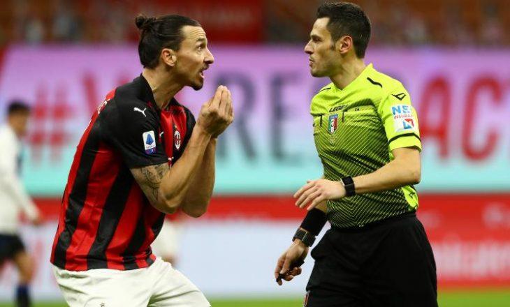 Moviola: Milan u dëmtua nga gjyqtari në sfidën kundër Atalanta-s