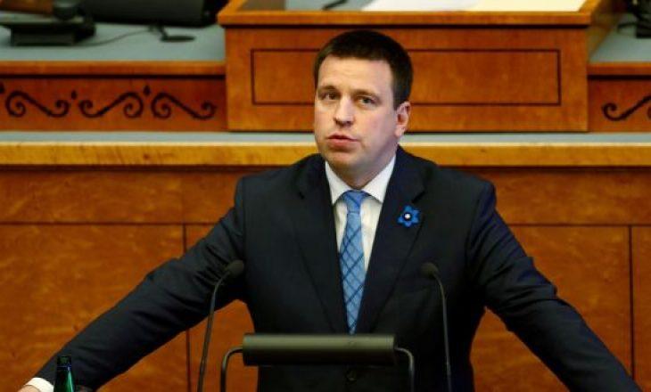 Kryeministri estonez jep dorëheqje shkaku i skandalit të korrupsionit