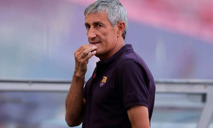 Ish-trajneri Setien padit Barcelonën
