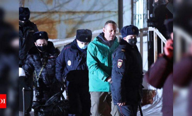 Zëdhënësi i Kremlinit, Peskov: Arrestimi i Navalny-t është çështje e brendshme e Rusisë