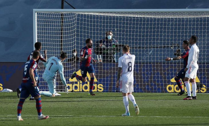 Real Madrid pëson humbje në shtëpi nga Levante