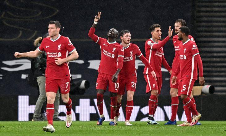 Liverpool mposht Tottenham-in në Londër