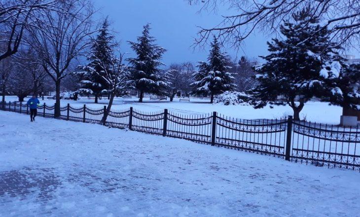 Sot mot me shi e borë në Kosovë