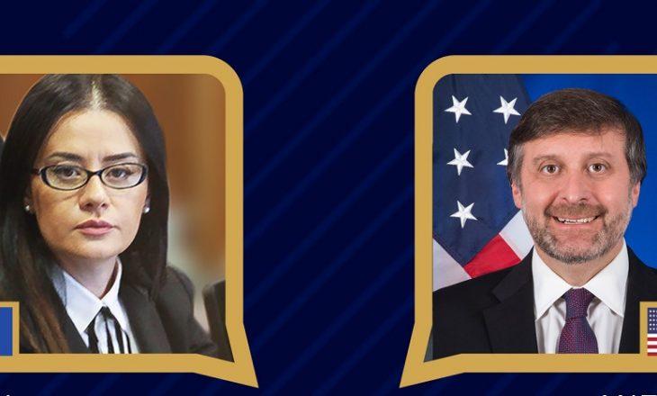 Palmer – Haradinajt: SHBA do të përcjellë implementimin e Marrëveshjes së 4 Shtatorit