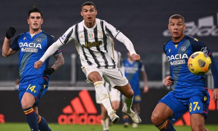 Juventus mposht bindshëm Udinesen