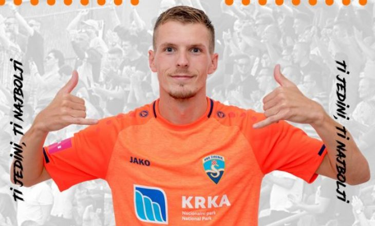 Emir Sahiti shënon gol për Shibenikun kundër Dinamos së Zagrebit