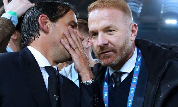 Igli Tare po punon për rinovimin e kontratës me trajnerin Inzaghi