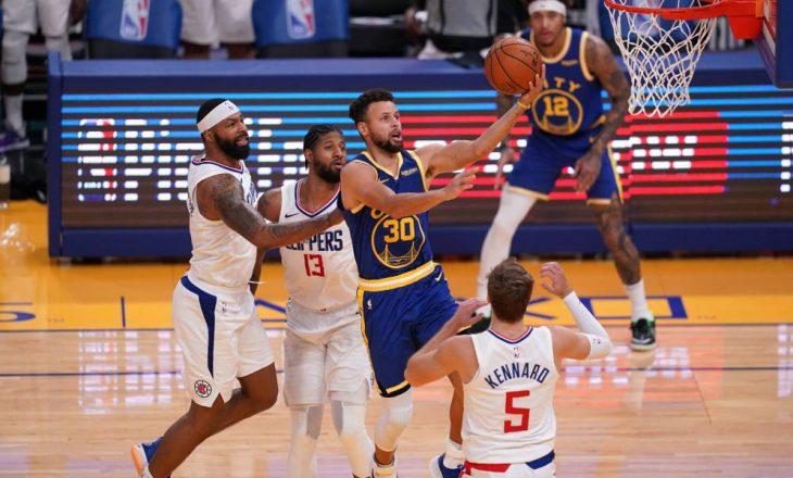 Golden State Warriors mposht Los Angeles Clippers – rezultatet në NBA