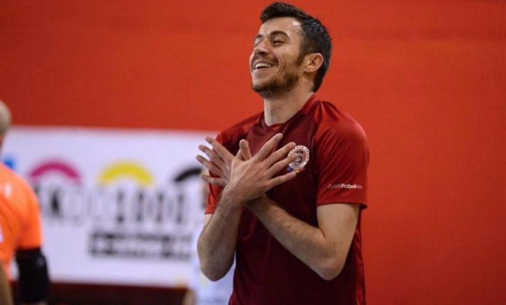 Azem Brahimi caktohet kapiten i ekipit të futsallit të Spartës së Pragës