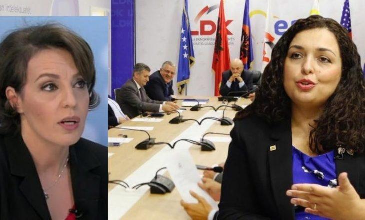 Vjosa Osmani: Donika Gërvalla u largua nga LDK-ja pas dështimit të reformave të brendshme