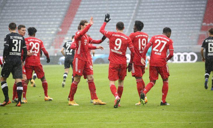Bayern mposht Freiburg-un, Abrashi lëndohet përsëri
