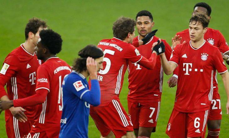Bayern Munchen shkatërron Schalke-n