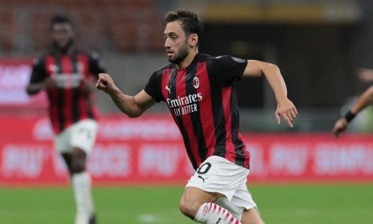 Calhanoglu në dyshim për sfidën ndaj Torinos në Serie A