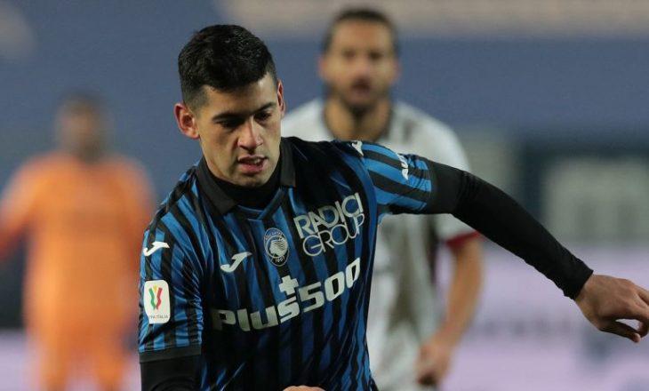 Te Atalanta infektohet me COVID-19 mbrojtësi Romero, mungon në sfidën ndaj Lazio-s