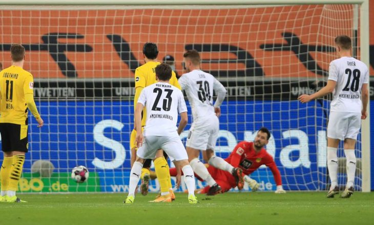 Derbi i Borussia-ve i takon Gladbach-ut, mposhtet Dortmund