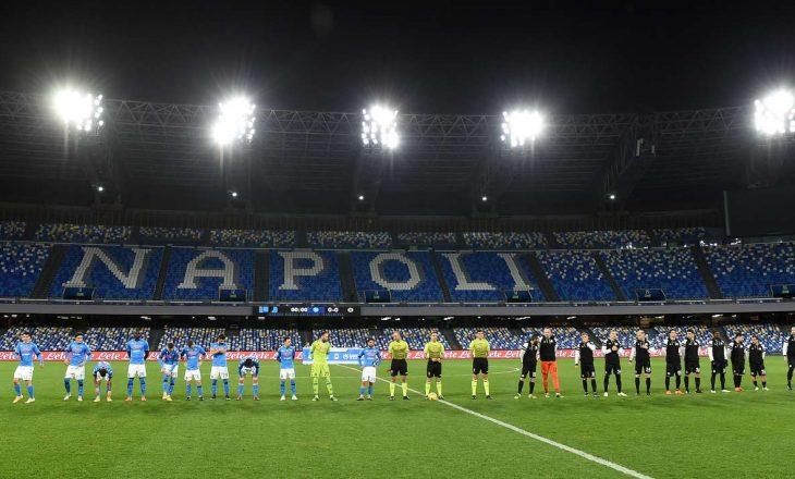 Napoli kalon në gjysmëfinale të kupës, mposht Spezia-n