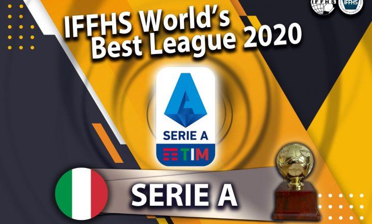 IFFHS shpallë Serie A-në kampionatin më të mirë në botë