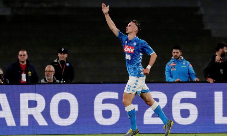 Lojtari i Napoli-t, Fabian Ruiz infektohet me COVID-19